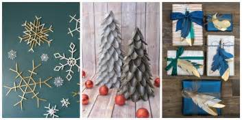 50 easy christmas crafts simple diy holiday craft ideas