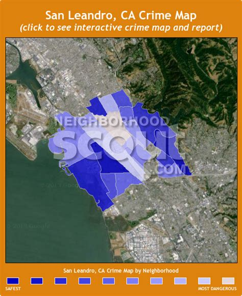 san jose crime map by neighborhood san leandro crime rates and statistics neighborhoodscout