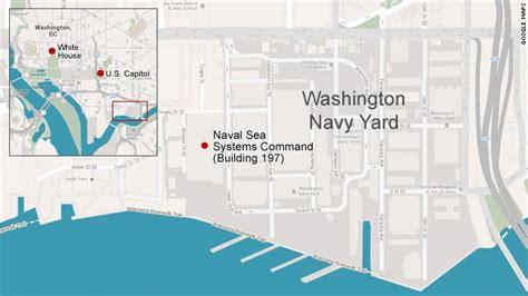 washington dc map navy yard mass shooting at washington navy yard