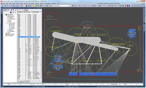 layout design mentor graphics pcb layout mentor graphics