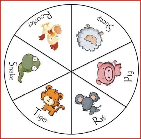 new year zodiac wheel craft freebie friday zodiac clothespin activity