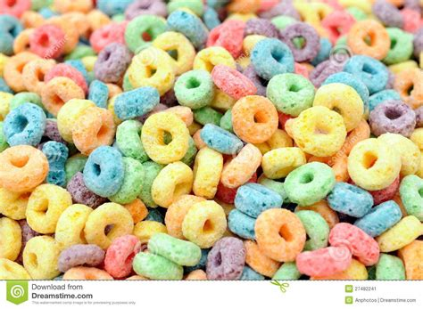 colorful cereal colorful cereal stock image image 27482241