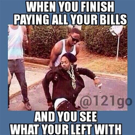 Paying Bills Meme - when you finish paying all your bills and you see what your left with