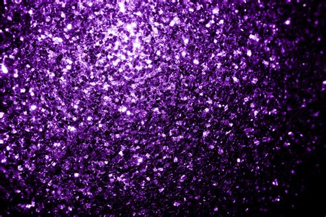 Dark Shower Curtains by Beautiful Purple Glitter Sparkles Canvas Print By Pldesign
