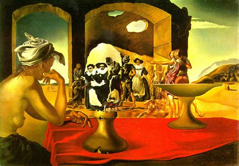 dal the paintings salvador dali paintings optical illusion