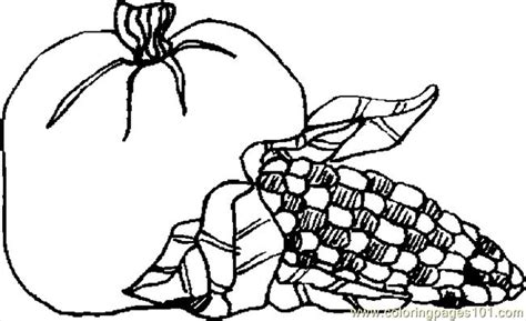 Free Coloring Pages Of Corn Stalks Corn Stalk Coloring Page