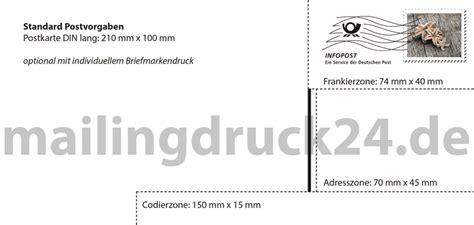 Word Vorlage Din Lang Postkartenmailings Komplett In 4 Tagen 187 Bestellung Hier