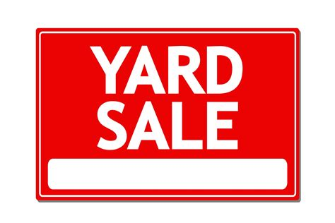 Backyard Sale by Plainfield To Hold 2nd Annual Borough Wide Yard Sale