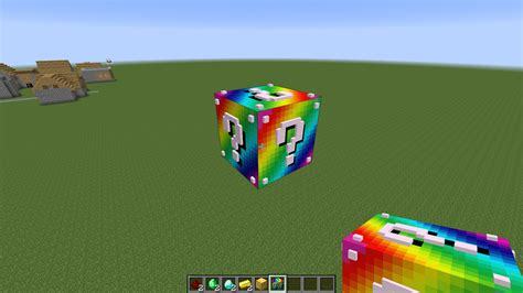 lucky block mod minecraft mods rainbow lucky block mod minecraft mods mapping and