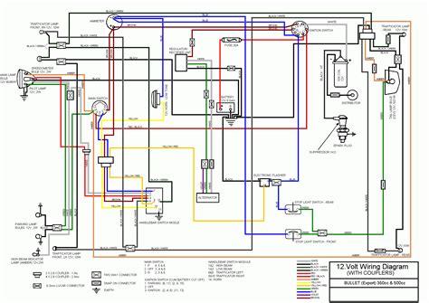 stunning royal enfield bullet wiring diagram photos