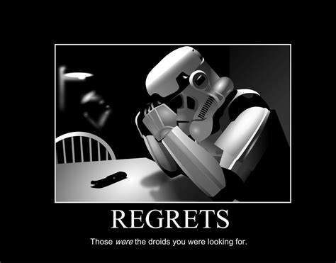 Poster A3 Wars Trooper wars trooper quote poster a0 a1