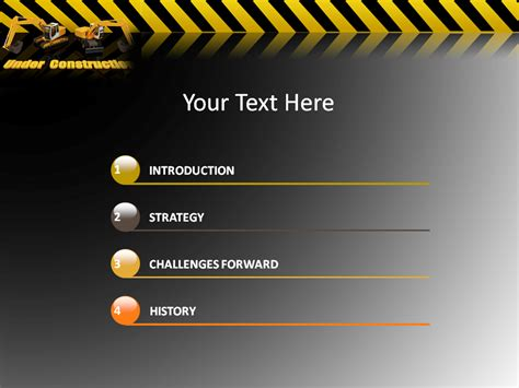 best photos of free powerpoint templates construction