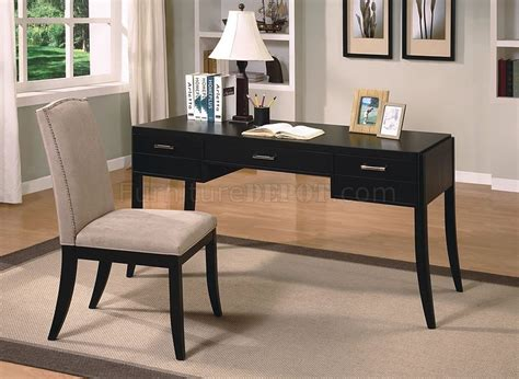 office desk and chair set modern set of office desk chair in cappuccino finish