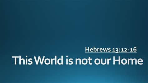 this world is not our home grace church salida