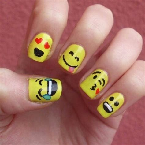 emoji nails cool emoji nails pictures photos and images for facebook