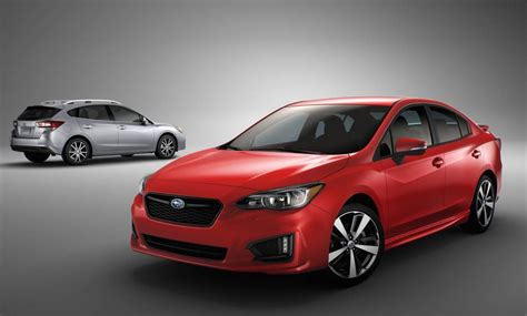 impreza subaru 2017 subaru impreza unveiled debuts all new global