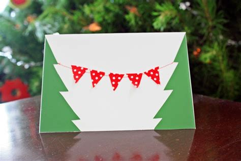 mini bunting for card handmade mini bunting cards
