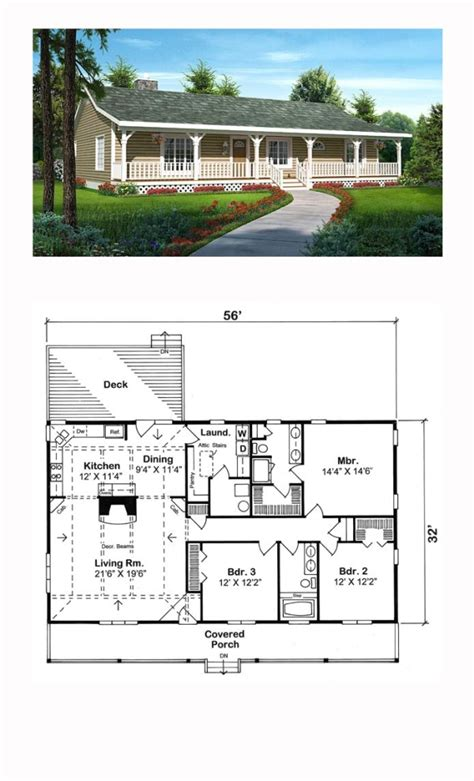 www coolplans com ranch style cool house plan id chp 47591 total living