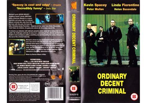 An Ordinary Decent Criminal ordinary decent criminal 2000 on icon home entertanment