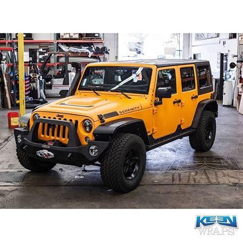 matte orange jeep jeep wrapped in 3m 1080 m54 matte orange