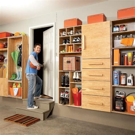 car garage organization ideas with diy wall mounted garage cabinets how to choose the best garage storage
