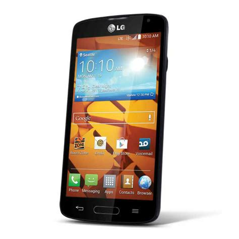 large android phones new lg volt boost mobile android phone with large 3 000 mah battery cheap phones