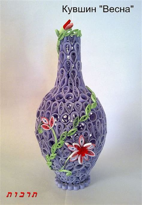 paper quilling vase tutorial 84 best images about quilling vases bowls baskets on