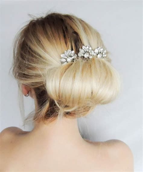 Wedding Hair Accessories Swarovski by Swarovski Hair Comb Hair Pins Bridal Hair