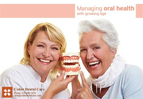 dr preeti kumar cedar dental care dental practice managing health with growing age cedar dental care
