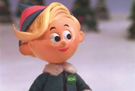 hermey the elf awarded ddg by american dental association