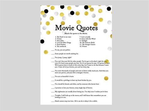 movie quotes game movie quote game famous love quote quotes from movie