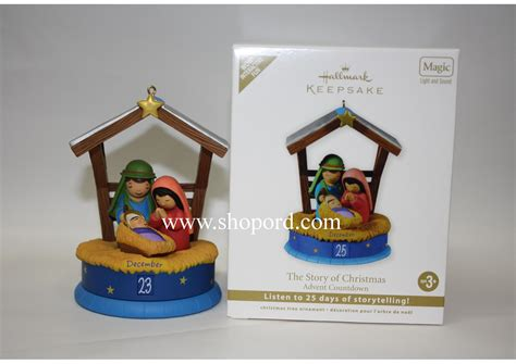 hallmark 2011 the story of christmas advent countdown