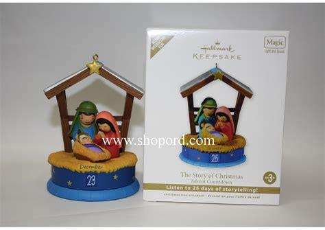 hallmark 2011 the story of christmas advent countdown
