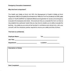 Evacuation Checklist Template by Emergency Drill Template Evacuation Plan Template 18 Free