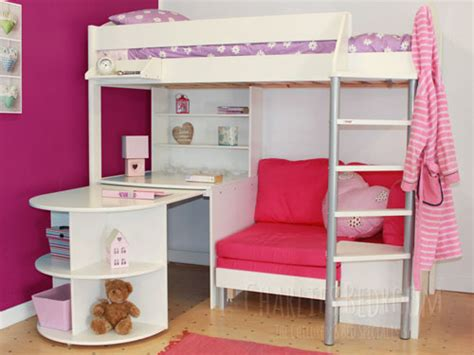 High Sleeper Bed With Desk And Sofa High Sleeper With Desk High Sleeper With Sofa And Desk