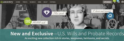 Probate Records The New Ancestry Research Collection U S Wills And Probate Records Is A Great