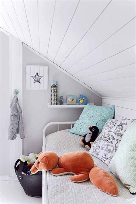 bedroom design eaves bright small attic bedroom for kids