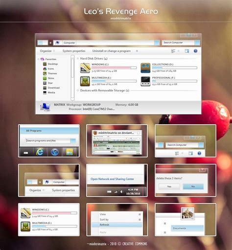 mi themes customize 35 best custom themes for windows 7 free download deviantart