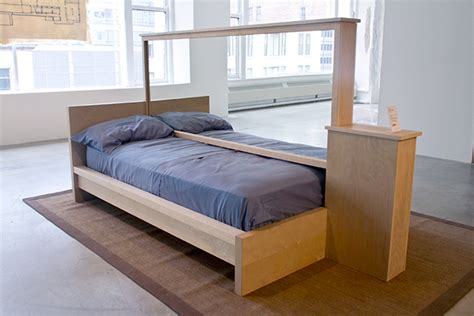mirror bed frame bed frame with mirrored partition on behance