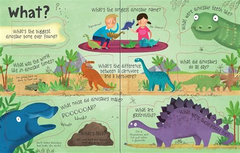 Usborne Picture Dinosaurs lift the flap questions and answers about dinosaurs at usborne children s books