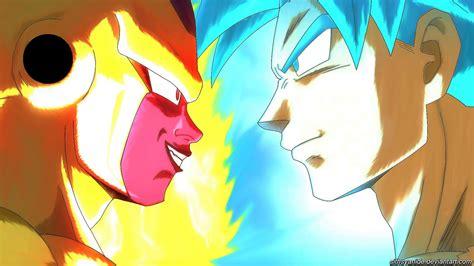 Goku Vs Frieza goku vs frieza by sithsyanide on deviantart