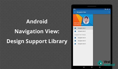 download material design tutorial for android appszoom java displaying fetched profile picture in navigation