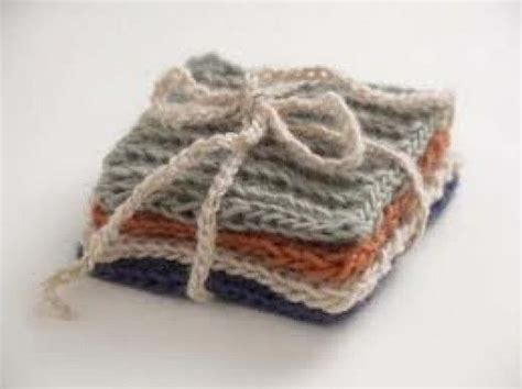 knitted coasters free patterns free coaster patterns 3 easy knit and purl knit starter