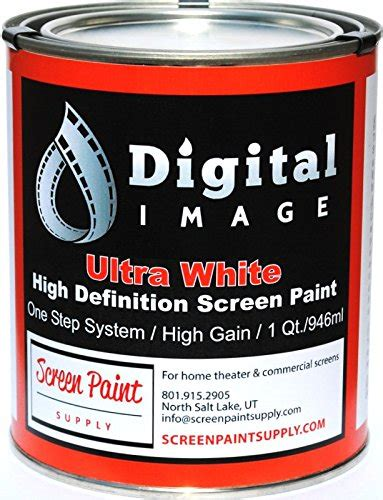 projector screen paint high definition ultra white quart