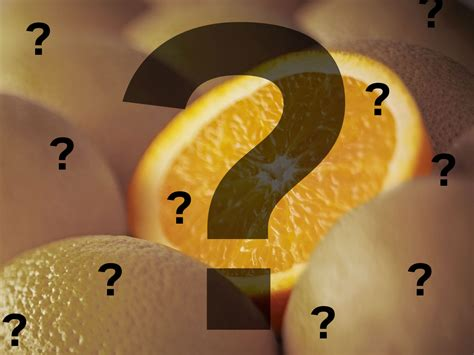 what came the color orange or the fruit which came the fruit orange or the colour orange t