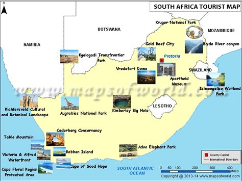 places to visit in map maps update 800600 tourist attractions map in south