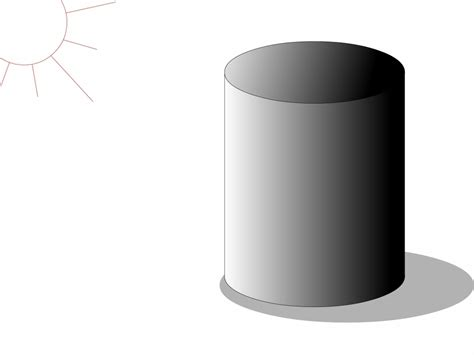 how to draw a how to draw a 3d cylinder how to draw a cylinder drawing sketch library