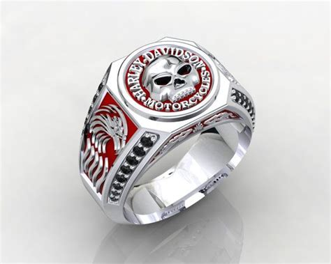 Harley Davidson Sterling Silver Jewelry by Harley Davidson Motorcycles Sterling Silver 925 By