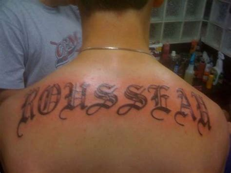 tattoo name on back last name tattoos on back tattoo collections