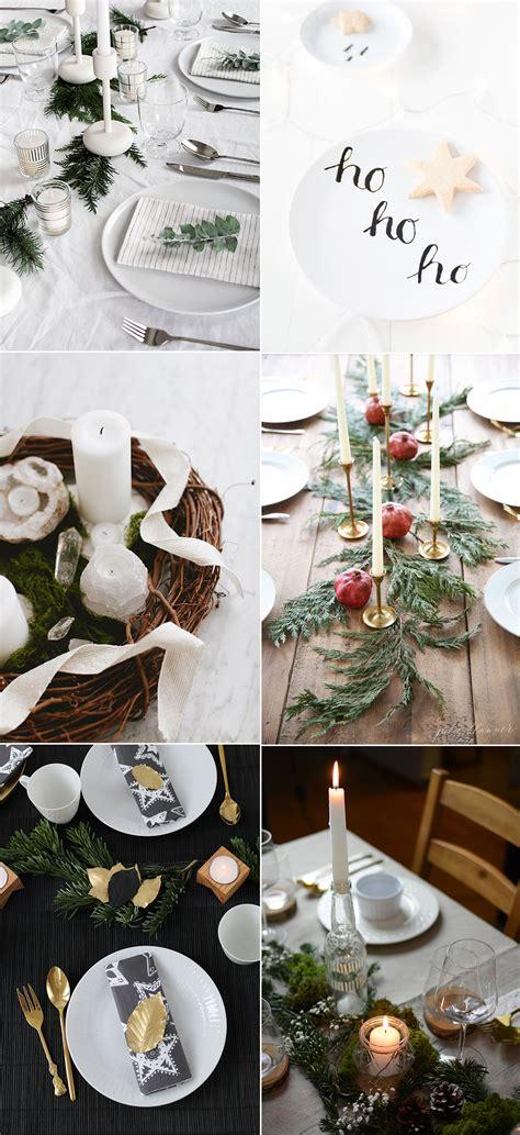 Weihnachtliche Tischdeko Ideen by We Inspiration Weihnachtliche Tischdeko Ideen We